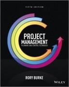 Project Management - Planning & Control Techniques 5E