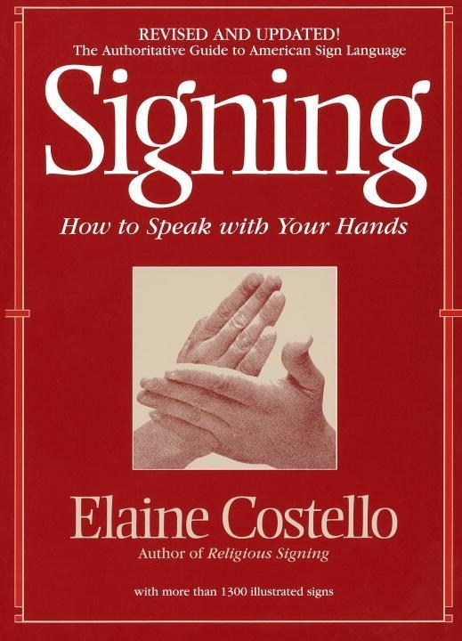 Signing als eBook Download von Elaine Costello