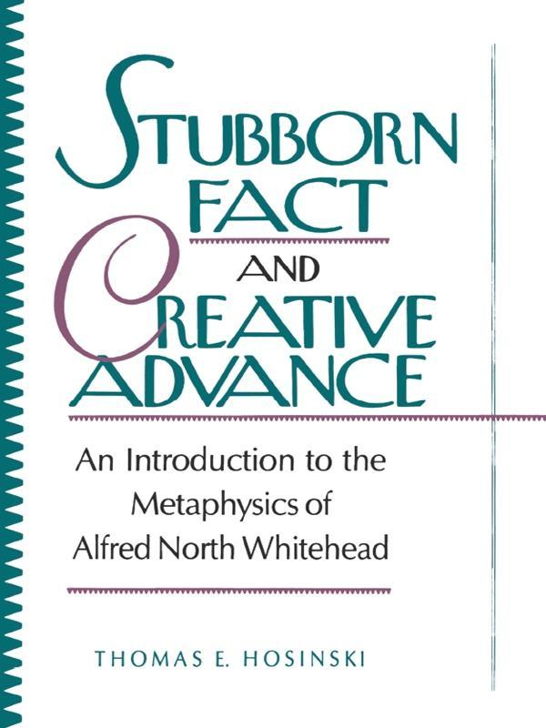 Stubborn Fact and Creative Advance als eBook Do...