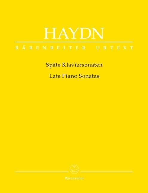 Späte Klaviersonaten als Buch