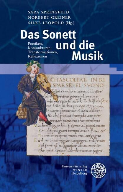 Das Sonett und die Musik als Buch von