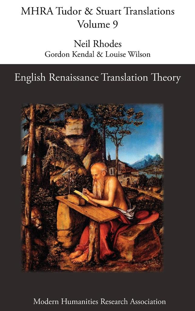 English Renaissance Translation Theory als Buch...