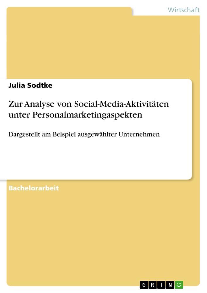 Zur Analyse von Social-Media-Aktivitäten unter ...