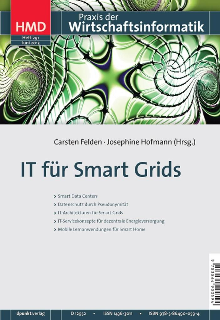IT für Smart Grids als eBook Download von