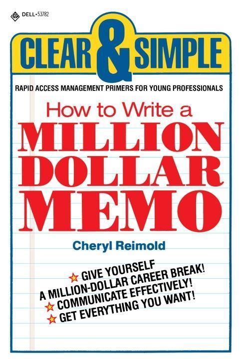 How to Write a Million Dollar Memo als eBook Do...