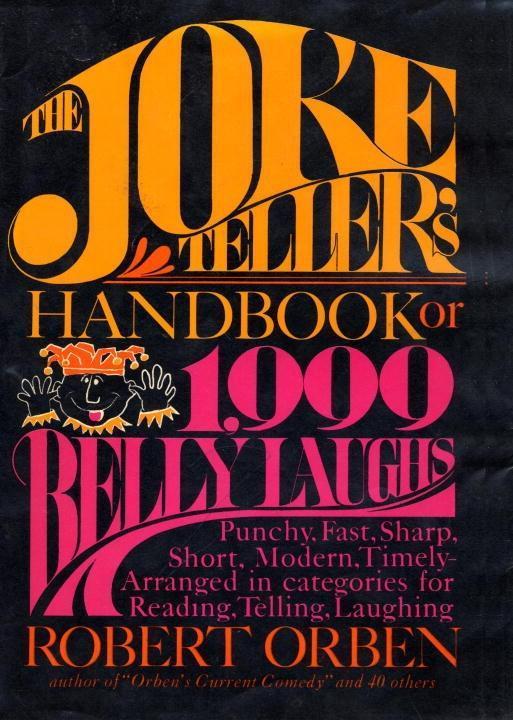Joke Tellers Handbook als eBook Download von Ro...