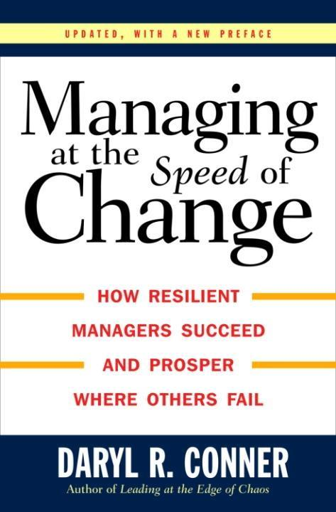 Managing at the Speed of Change als eBook Downl...