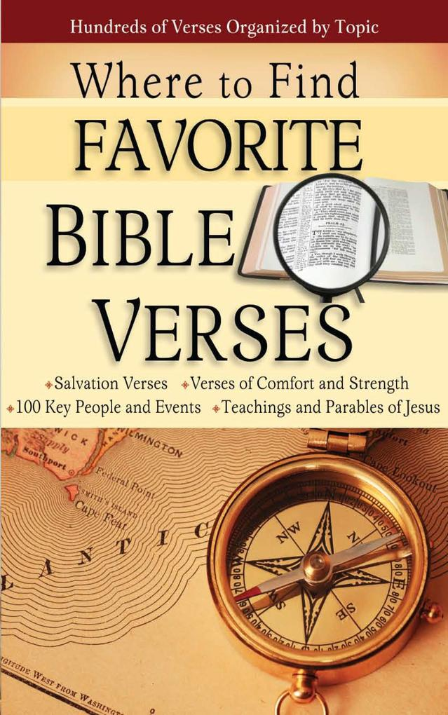 Where to Find Favorite Bible Verses als eBook D...