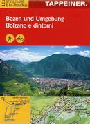 Wanderkarte Bozen und Umgebung 1 : 25.000
