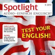 Englisch lernen Audio - Teste dein Englisch