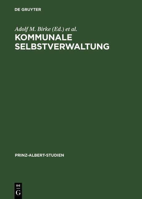 Kommunale Selbstverwaltung / Local Self-Governm...