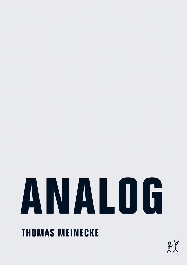 Analog als eBook Download von Thomas Meinecke
