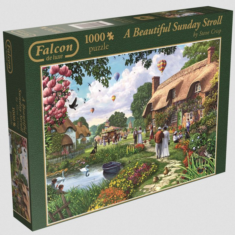 Falcon - Beautyful Sunday Stroll - 1000 Teile Puzzle als sonstige Artikel