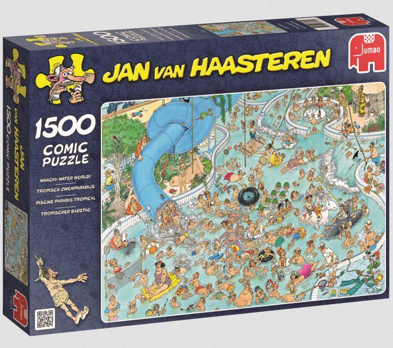 Jumbo Spiele - Puzzle - Jan van Haarsteren - Tr...