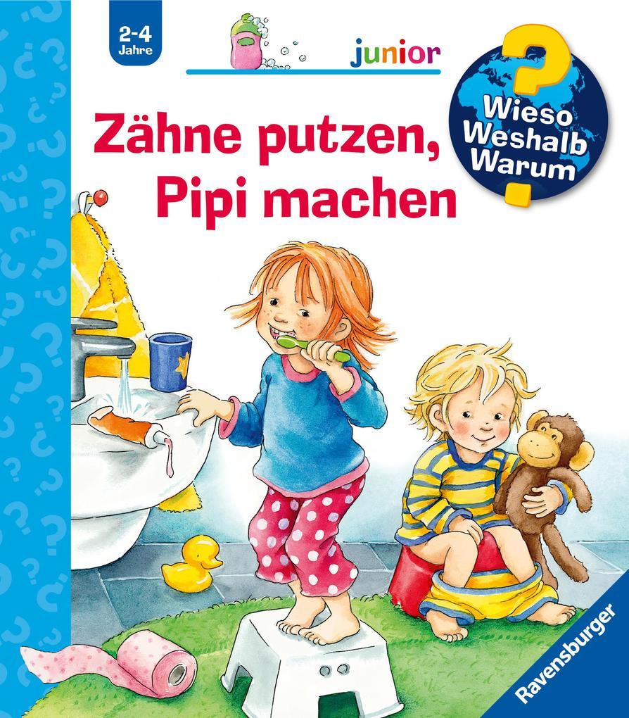 Zähne putzen, Pipi machen als Buch