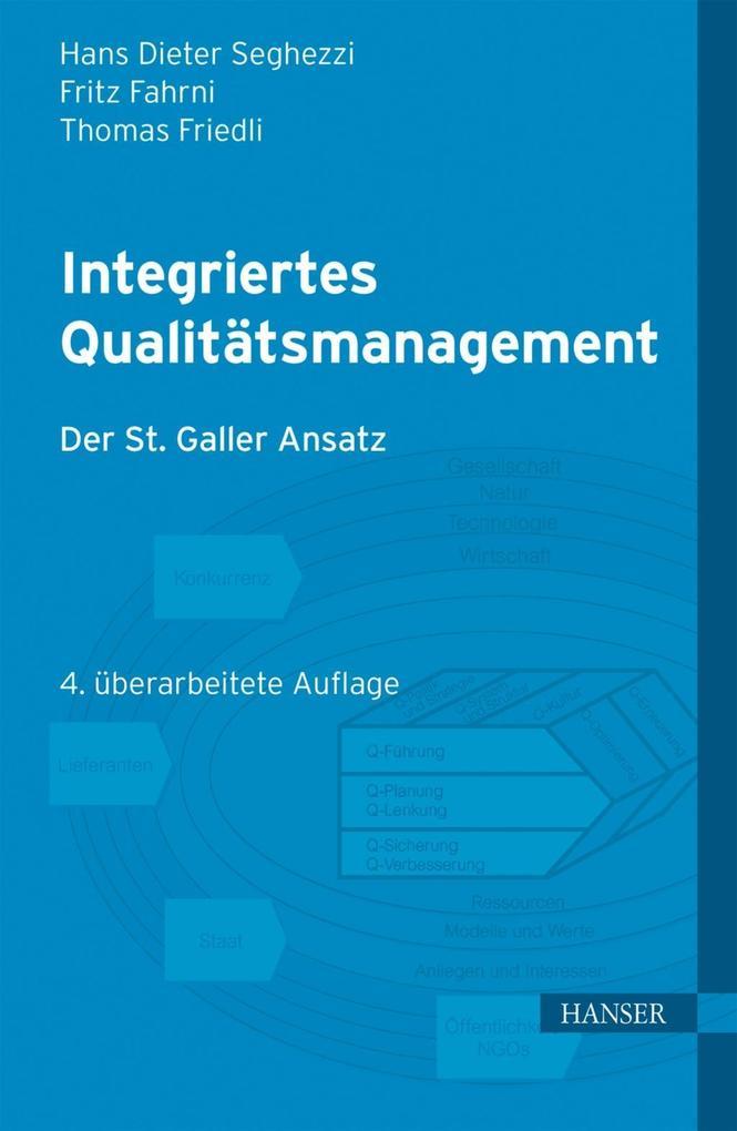 Integriertes Qualitätsmanagement als eBook Down...