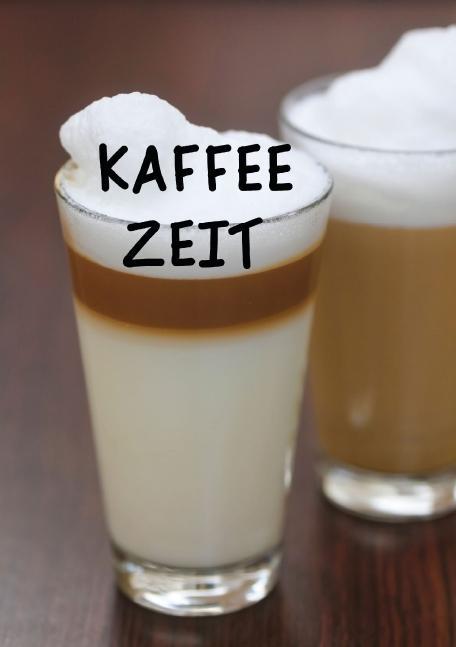 Kaffeezeit (Tischaufsteller DIN A5 hoch)