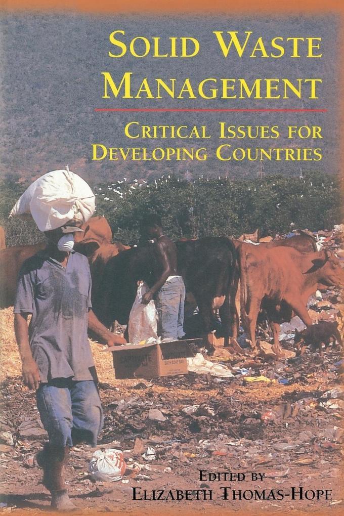 Solid Waste Management als Taschenbuch von