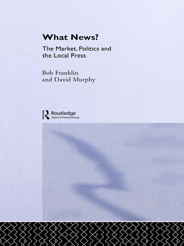 What News? als eBook Download von Bob Franklin,...