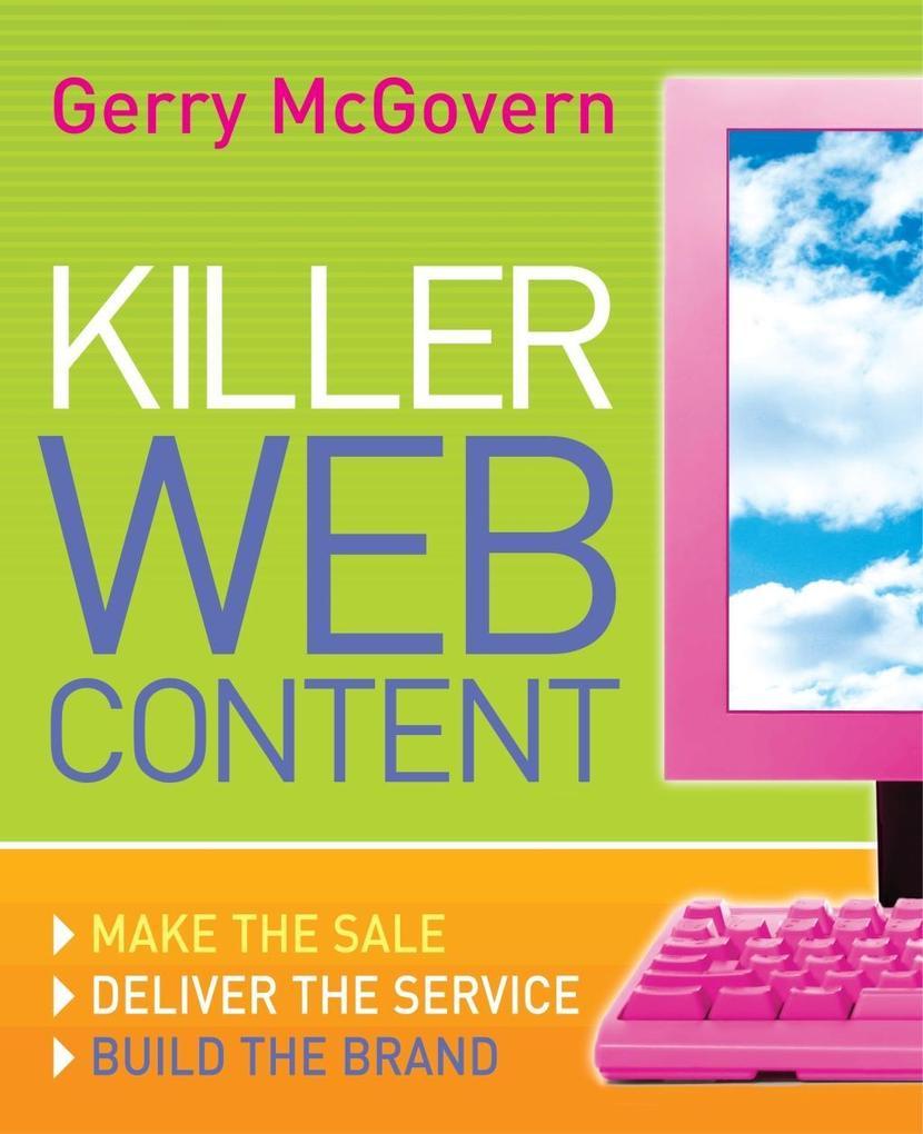 Killer Web Content als eBook Download von Gerry...