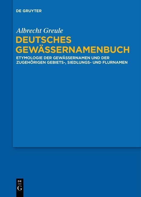 Deutsches Gewässernamenbuch als eBook Download ...