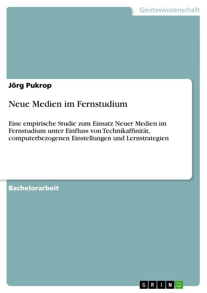 Neue Medien im Fernstudium als Buch von Jörg Pu...