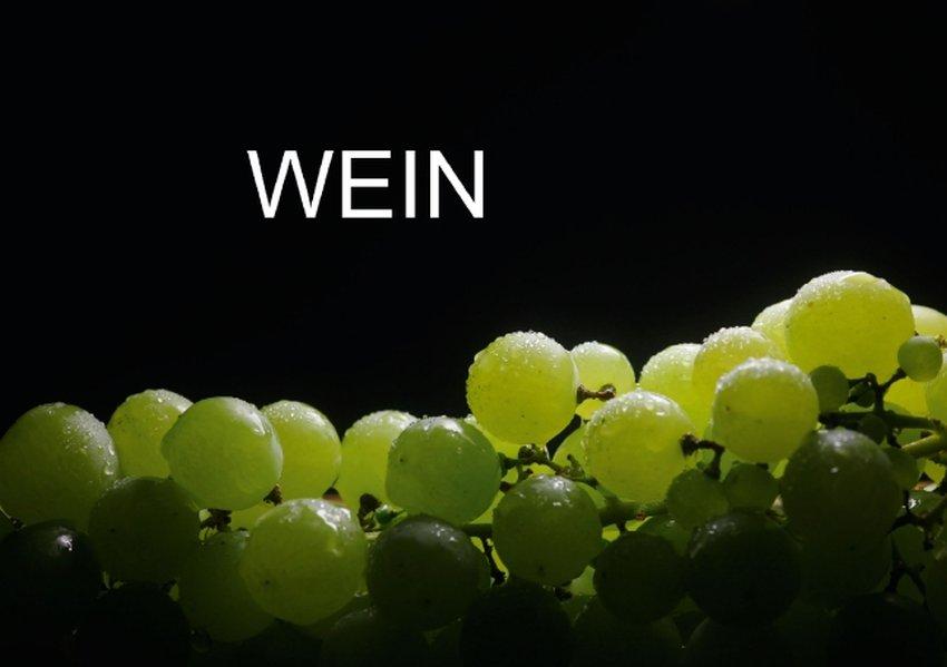 Wein (Tischaufsteller DIN A5 quer)