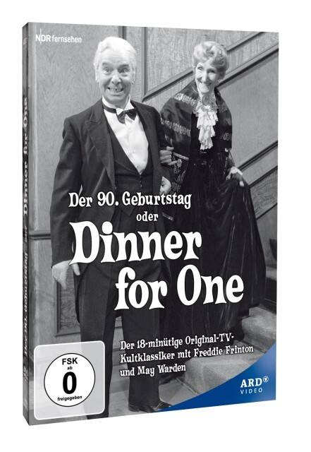Dinner for one - Der 90. Geburtstag als DVD