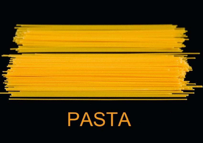 Pasta (Tischaufsteller DIN A5 quer)