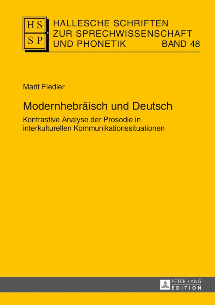 Modernhebräisch und Deutsch als Buch von Marit ...