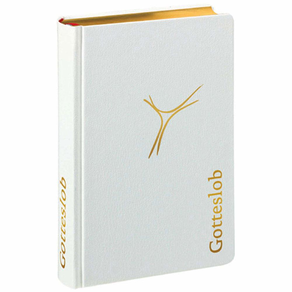 Gotteslob Premium-Ausgabe Leder weiß als Buch von