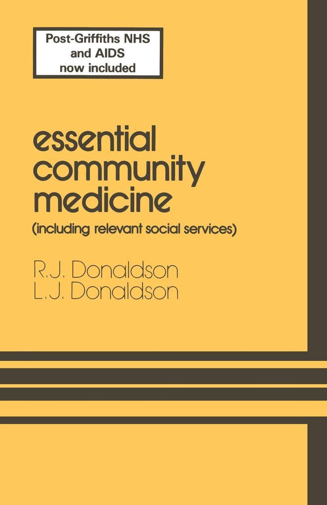 Essential Community Medicine als Buch von