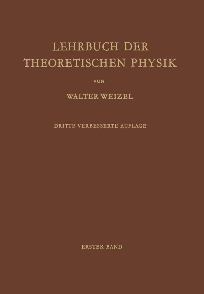 Lehrbuch der Theoretischen Physik als Buch von ...