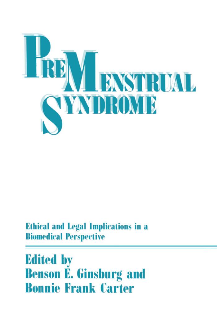 Premenstrual Syndrome als Buch von