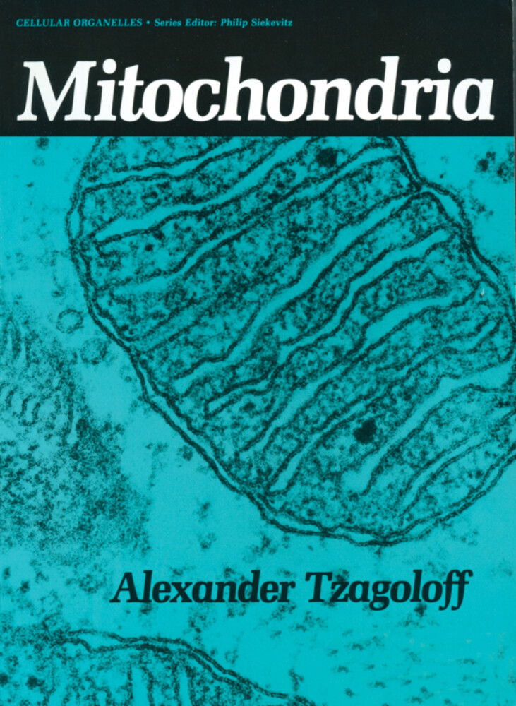 Mitochondria als Buch von Alexander Tzagoloff