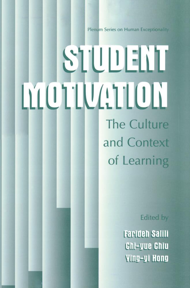 Student Motivation als Buch von