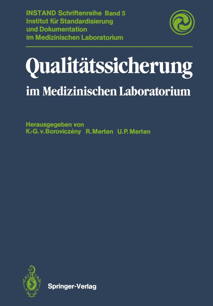 Qualitätssicherung als Buch von