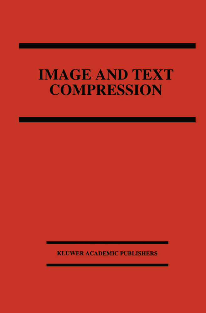 Image and Text Compression als Buch von