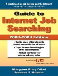 Guide to Internet Job Searching 2008-2009 als e...