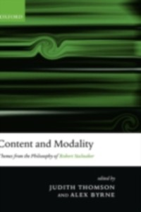 Content and Modality: Themes from the Philosoph...