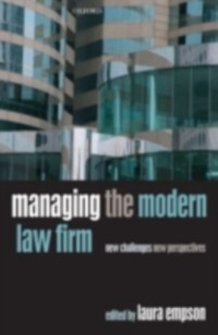 Managing the Modern Law Firm als eBook Download...