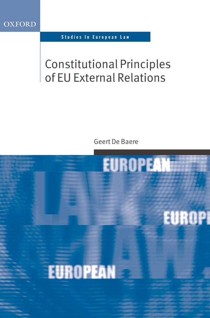 Constitutional Principles of EU External Relati...
