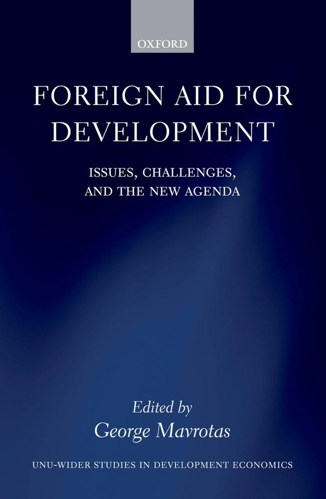 Foreign Aid for Development als eBook Download von