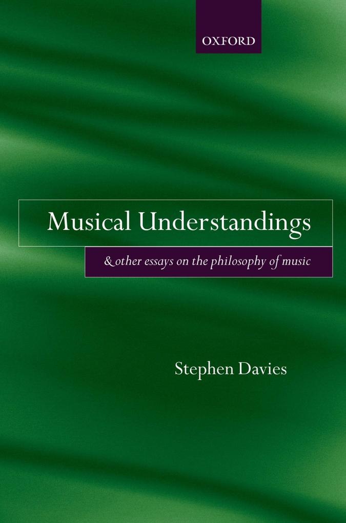 Musical Understandings als eBook Download von S...