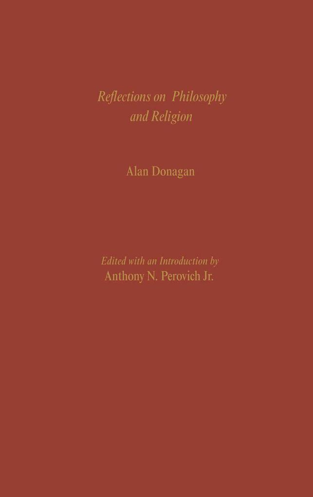 Reflections on Philosophy and Religion als eBoo...