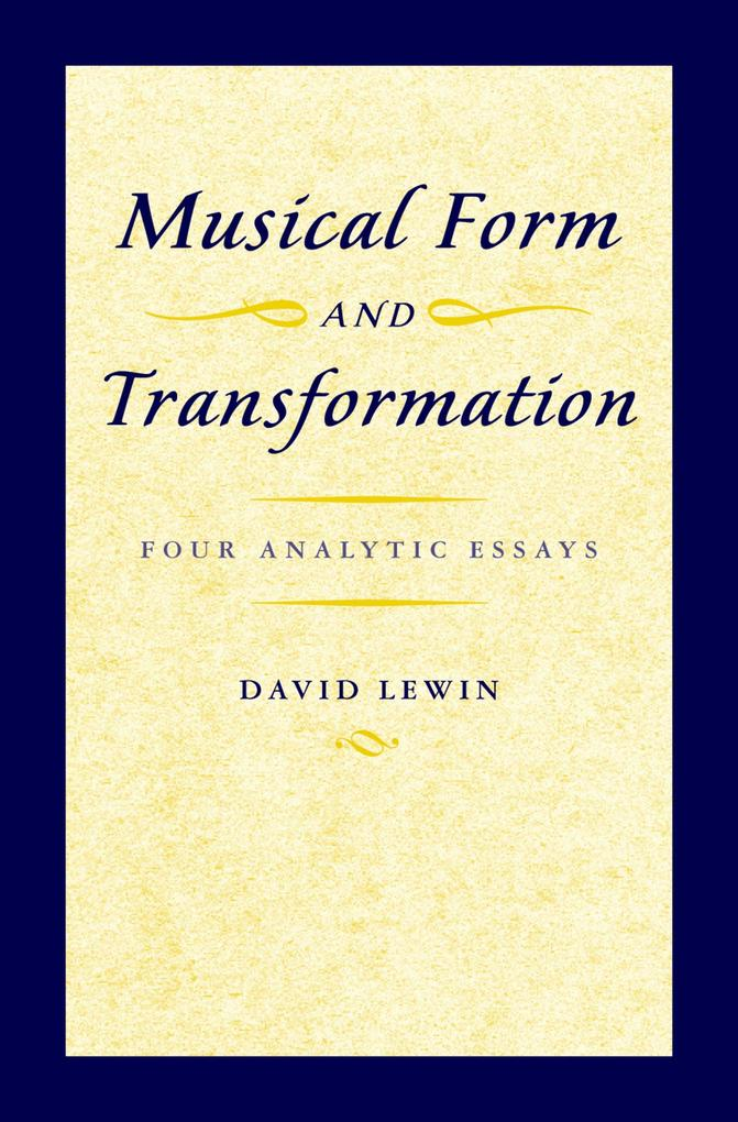 Musical Form and Transformation als eBook Downl...