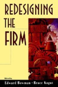 Redesigning the Firm als eBook Download von
