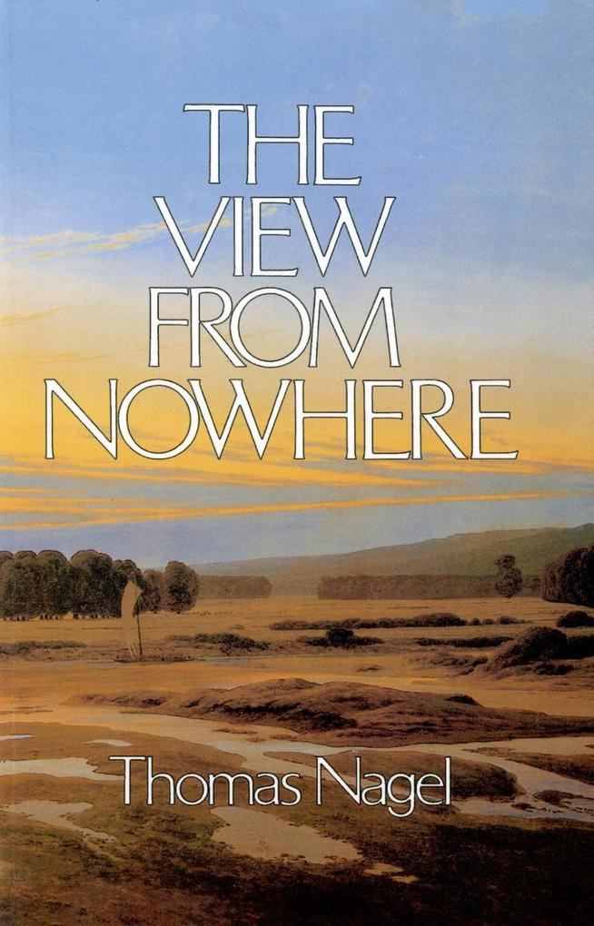 The View From Nowhere als eBook Download von Th...