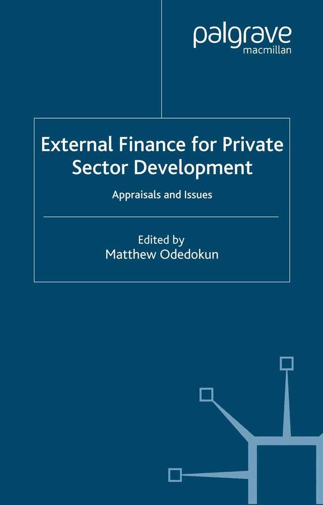 External Finance for Private Sector Development...