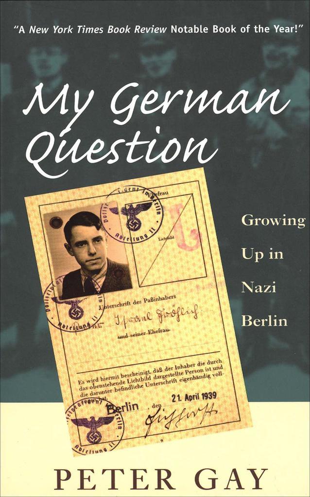 My German Question als eBook Download von Peter...